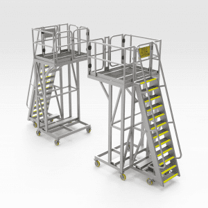 Caterpillar 789 Air Filter Access Platform