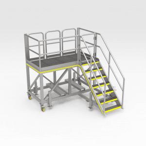 Komatsu 930E Strut Pin Access Platform