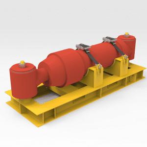 Hitachi EX5500 Dump Cylinder Transport Frame