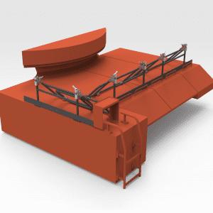 Hitachi EX3600 Travel Motor Cover Folding Handrails