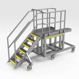 Caterpillar 993K Lower RH Artic Access Platform