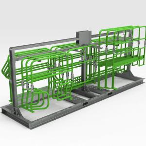 Epiroc MT6020 Tier 2 Handrail Storage Rack