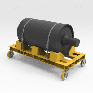 Conveyor Pulley Transport And Support Frame