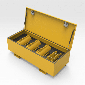 Epiroc D65 Clamp Storage Toolbox
