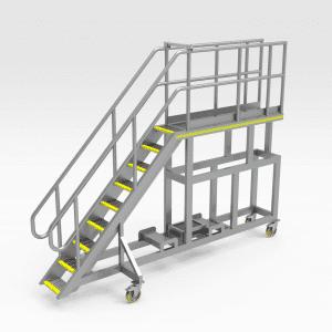 Caterpillar 793F Lift Arm Ram Access Platform