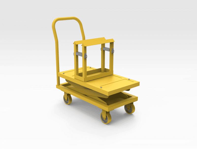 Terex MT4400 Trolley Mounted Steering Pump Removal Tool
