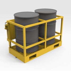 Drum Transport and Storage Frame