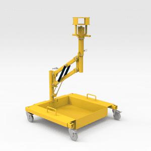 Komatsu 830E Oil Filter Removal Trolley Stand