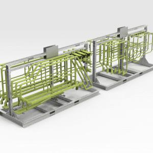 Sandvik LH621 Hydraulic Handrail Storage Racks