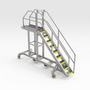 Komatsu 730E/830E Engine Access Platform