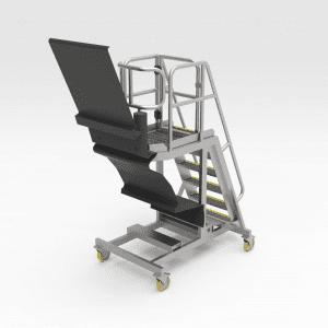 Sandvik DD421 Windscreen Changeout Access Platform