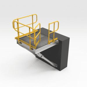 Wharf Access Cantilever Platform