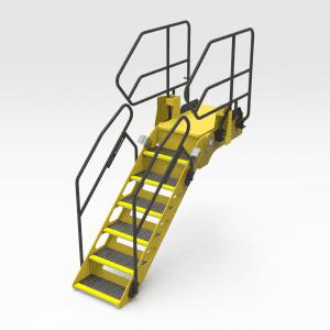 Caterpillar 793F Ladder Handrail Conversion