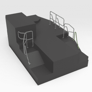 Handrail to suit OEM 245-2161