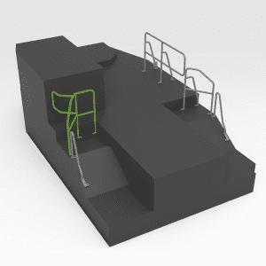 Handrail to suit OEM 271-1840