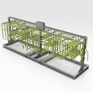 Sandvik TH663 Handrail Storage Rack