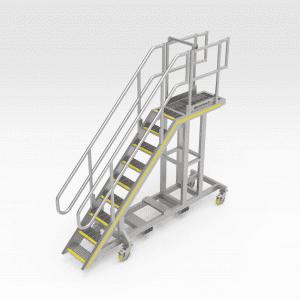 Komatsu 930E Engine Access Platform