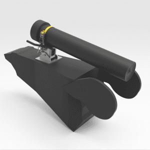 Caterpillar 992J/K Tilt Cylinder Support Stand