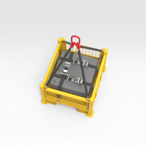 Small Battery Lifting Cage