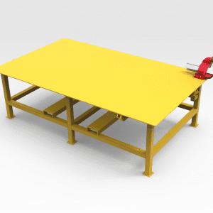 Welding Work Bench 3000mm (L) x 1800mm (W)