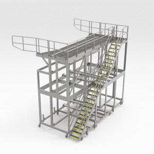 Komatsu 830E Tray Access Platform