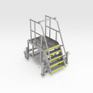 LeTourneau L1850 HV Cabinet Access Platform