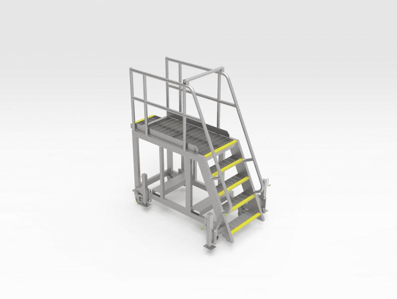 LeTourneau L1850 RH Side Engine Access Platform