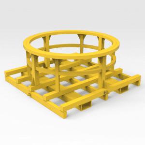 Cone Crusher Bowl Transport Frame