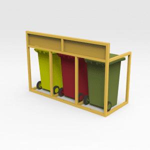Bin Storage Frame