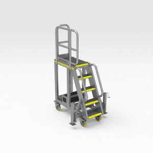 Caterpillar 777G Engine Bay Access
