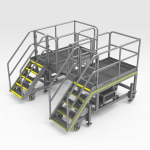 Epiroc D65 Side Access Platforms