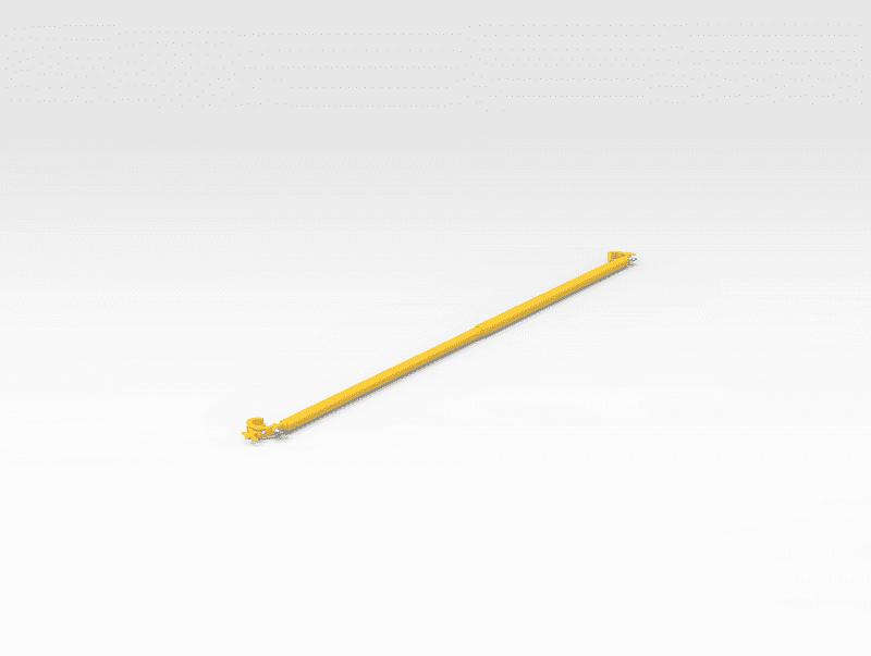 Adjustable Clamp on Handrail