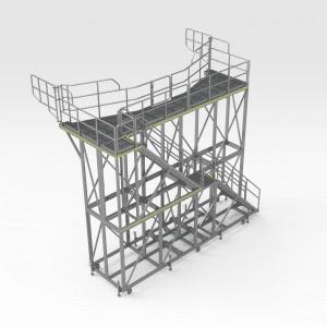 Komatsu 930E Rear Tray Platform