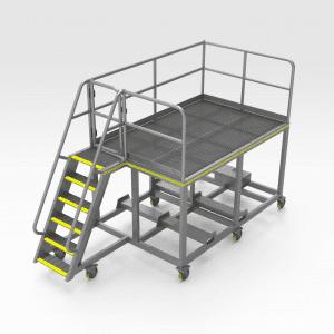 Komatsu 830E Fire Suppression Platform