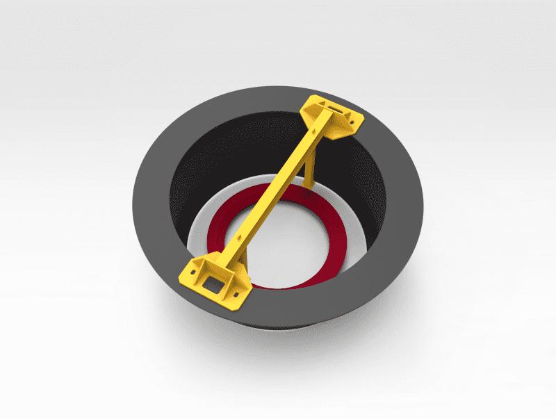 Crusher Bowl Liner Removal Beam