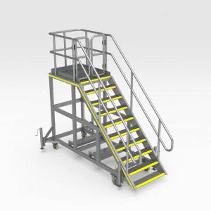 Komatsu 730E Tray Pin Access Platform