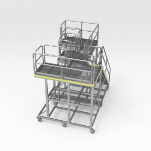 Komatsu 930E Pivot Pin Platform