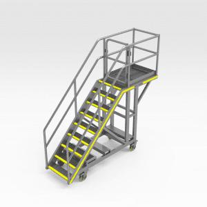 Komatsu HD1500 Tray Pin Access Platform