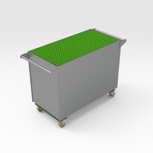 Aluminium Oil Trolley