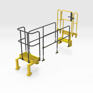 Caterpillar 854K Front Handrail Kit