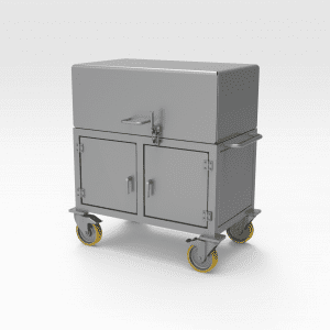 Enclosed Mobile Trolley