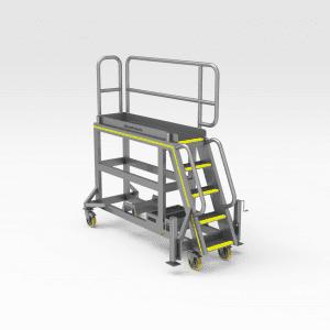 Komatsu HD1500 Engine Bay Access Platform
