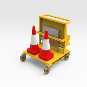 Yard Equipment Storage Trolley