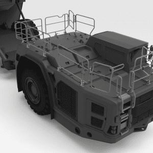 5000145 TH663 SANDVIK Front Low Folding