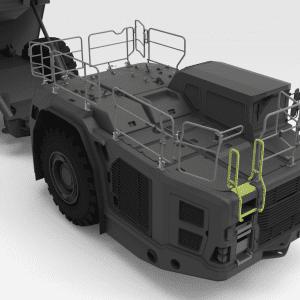 5000152 TH663 SANDVIK Front Low Folding