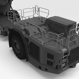 5000172 TH663 SANDVIK Front Low Folding