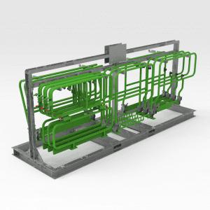 5502897 MT65 Storage Rack LH