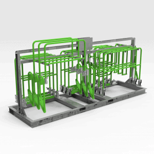 5502944 CAT2900 Storage Rack New Hinge RH