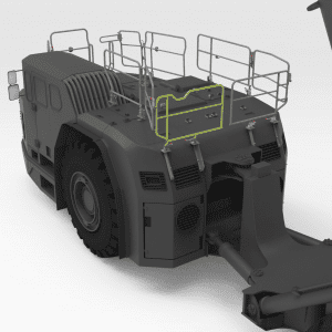5522677 TH663 SANDVIK Rear Low Folding