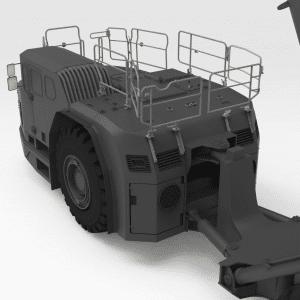 5532677 TH663 SANDVIK Rear Low Folding